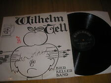 BRASS BAND-THE WILHELM TELL BIER KELLER BAND LP  EDELBRAU IC 1124 DEMO NM VINYL
