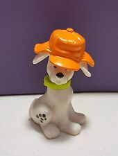 McDonalds Happy Meal Toys 101 Dalmatians DALMATIONS #70 DOG in orange hunter cap