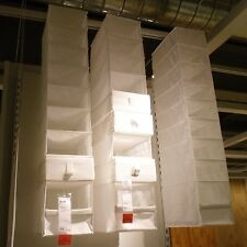 Ikea Skubb Hanging Clothes Closet Storage Shoes Organizer Rack White, New