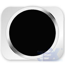 Black With Silver Trim iPhone 5S Style Look/Looking Home button for iPhone 5/5C