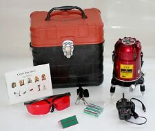 6 Beam Automatic Self Levelling Cross Line laser level 4V1H1P - Tiling Ceilings
