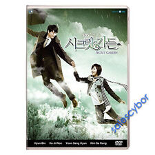 """BUY 5 GET 1 FREE"" Secret Garden Korean Drama (5DVDs) GOOD_ENGLISH Subs!"