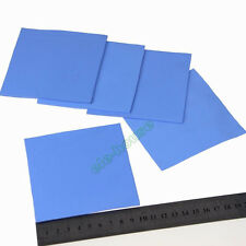 100x100x3mm GPU PS3 PS2 XBOX 360 Heatsink Compound Conductive Thermal Pad Blue