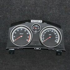 Opel Astra H 1.8 Petrol Speedometer Instrument Cluster KMH LHD 13225986 2006