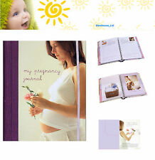 My Pregnancy Journal Keepsake Book, Hard Back with Dividers Gift