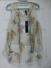 CLAIRE CAMPBELL HIGH USE 'FOCUS' SUMMER TOP (BNWT)IT.42/GB10