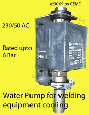 MIG and Tig welders water pump 230 volt (model Ceme ET3009)    UK