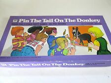 Vintage 1975 Whitman Pin the Tail on the Donkey game #4799