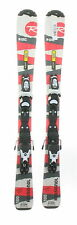 Used Rossignol Roc Junior Snow Skis with Rossignol Xelium Bindings 130cm C