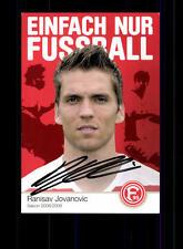 Ranislav Jovanovic Autogrammkarte Fortuna Düsseldorf 2008-09 Original +A 146061