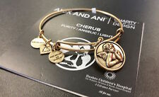 ALEX AND ANI RUSSIAN GOLD CHERUB BANGLE BRACELET NEW