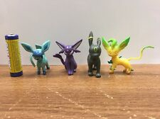Pokemon Go figure Eeveelution Set Of  Espreon Umbreon Leafeon Glaceon In U.S