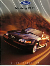 Catalogue FORD MUSTANG de 2001