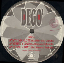 DEGO - Anything 4 Love (Mad Universe) / Turn To Me - Step Musique