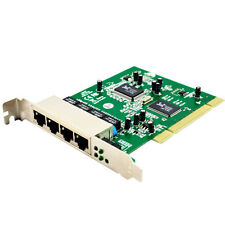 4 Port PCI 10/100 Mbps 100M Fast Ethernet Network LAN Switch Card Board