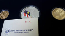 2013 Malaysia 50th Anniversary Of Malaysia Day Proof Set Of 3 ( Cert No: 103 )