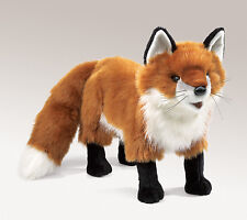 Red Fox Hand Puppet with Moveable Mouth, Folkmanis MPN 2876, 3 & Up, Unisex