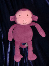 Animal Adventure Purple Pink Monkey Plush Stuffed Animal Target Toy 11""