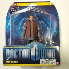 Doctor Who Lot of 5 Figures Rory Red Vest, 10th,11th,12th Dr & Amy Pond New