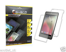 ZAGG InvisibleSHIELD Screen Protector Full Body for Samsung Galaxy Nexus 7 NEW