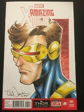 Todd Nauck Original Art Cyclops Cover Marvel Xmen