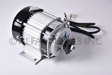 48V 500W Electric Scooter Tricycle Brushless Motor DIY Reduction Motor Engine