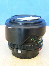 OBIETTIVO FOTOGRAFICO CANON FD 24 mm 1:2.8 + PARALUCE BW-52C