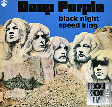 "DEEP PURPLE - BLACK NIGHT / SPEED KING, 2015 RECORD STORE DAY BLUE vinyl 7"", NEW"