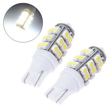2Pcs T10 28 SMD White LED 194 168 2825 W5W Car Lights Lamp Bulb 12V