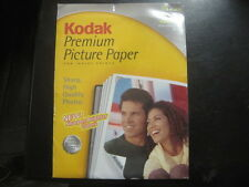 NEW, Kodak Premium Picture Paper - Satin - Acid Free - 15 Sheet package