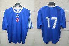 VINTAGE Maillot porté n°17 STORM NORTH USA soccer football ADIDAS match worn M