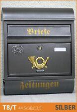 Briefkasten Postkasten Zeitungsrolle,pulverbeschichtet schön  NEU T8