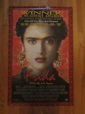 Frida Salma Hayek Banderas Movie Poster Mexica Art 40 by 26