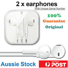 2 x Genuine Apple EarPods Earphone Headphone Headset iPhone 5 5s 6 iPad Original