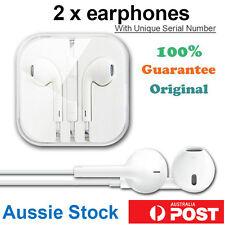 2 x Genuine Apple EarPods Earphone Headphone Headset iPhone 5 5s 6 iPad Original