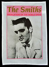 THE SMITHS SHOPLIFTERS TEA TOWEL ELVIS PRESLEY MORRISSEY WALL HANGING POSTER