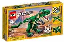 LEGO CREATOR 174 pcs SET 31058 Mighty Dinosaurs T-REX Triceratops 3 in 1