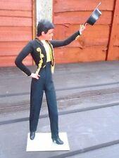 """RARE Marin MASCHIO 13.5"""" alta ballerino di flamenco spagnolo con Bambola Giallo"""