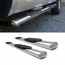 """Fit 07-16 Tundra Double Cab (w/ Half Size Rear Doors) 5"""" S/S Side Step Nerf Bars"""