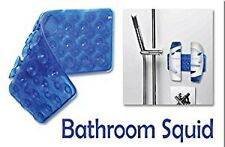 BATHROOM SQUID - PRATICALHANDY WATERPROOF STICKY SUCTION WALL MAT