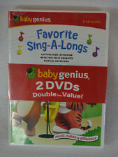 Baby Genius 2 DVD Set Favorite Children's Songs and Sing-A-Longs New