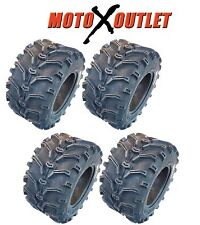 Set of 4 NEW KENDA K299 Bear Claw 25x8-12 Front 25x10-12 Rear ATV Tires