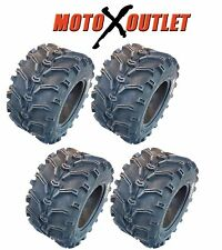 Set of 4 NEW KENDA K299 Bear Claw 25x8-12 Front 25x10-12 Rear ATV Tires 6 PR