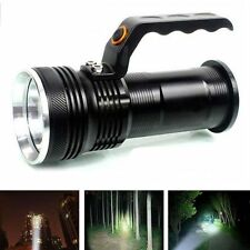 Rechargeable Spotlight Police Tactical LED Flashlight Torch Handheld Lamp SG