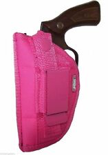 Pink Gun Holster For Snub Nose 5 Shot Revolver ~ For Right or Left Hand Use