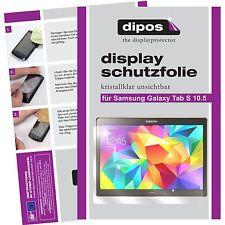 2x dipos Samsung Galaxy Tab S 10.5 klar Displayschutzfolie Crystalclear glänzend
