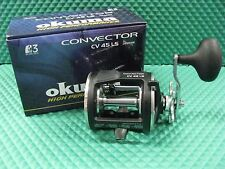 Okuma Convector CV 45LS HIGH SPEED 6.2:1 Level wind Trolling Reel