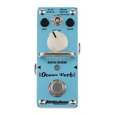 AROMA Ocean Verb Digital Reverb Electric Guitar Effect Pedal Single Effect W6M2