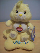 Care Bear Collectable 20th Anniversary Edition 2003 + Original Birthday Bear Tag
