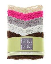 Hanky Panky Signature Lace low Rise Thong 5-Pack Classic